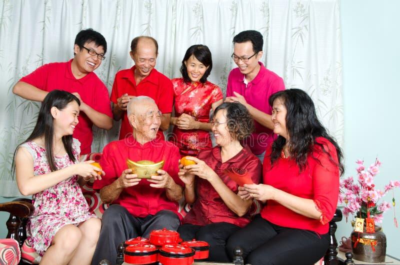 Año Nuevo chino feliz imagen de archivo