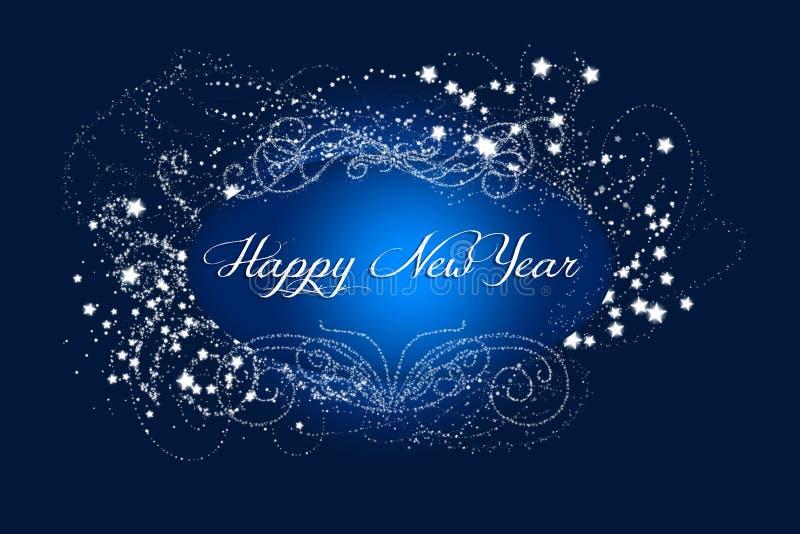 Año Nuevo chispeante libre illustration