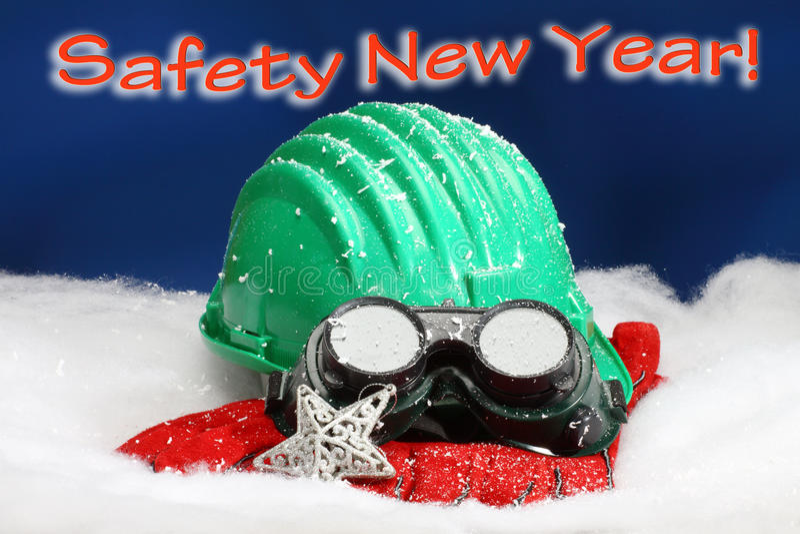 Año Nuevo de la seguridad imagen de archivo