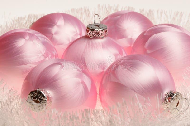 Año Nuevo, decoraciones de la Navidad foto de archivo