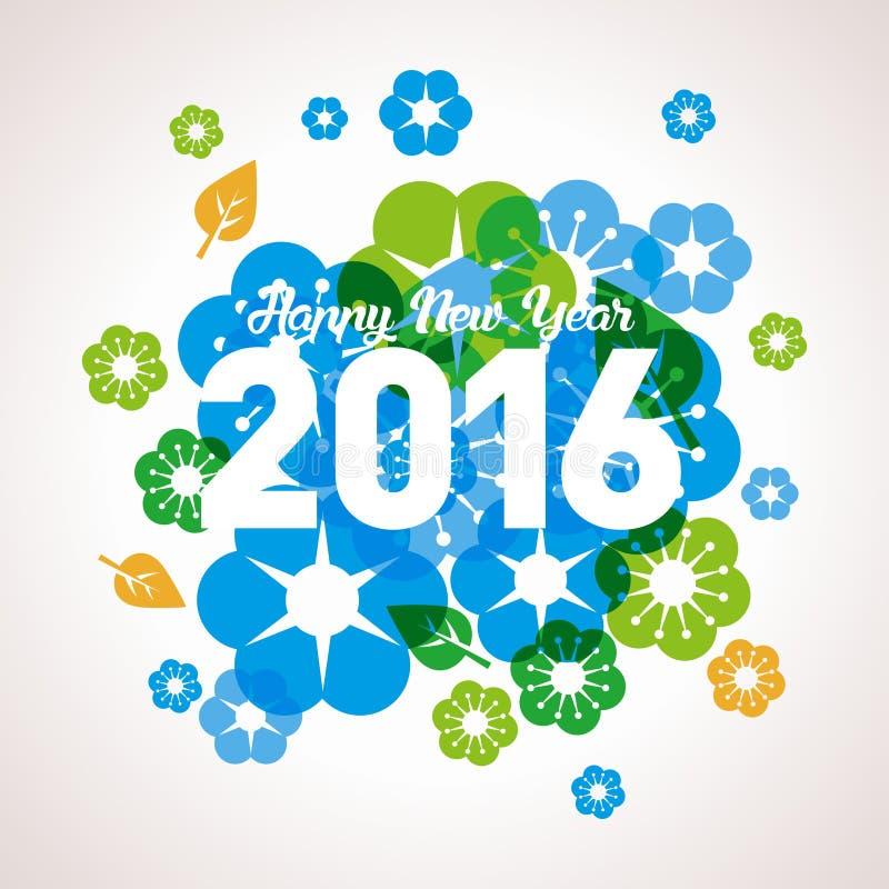 Año Nuevo 2016 del mono foto de archivo libre de regalías