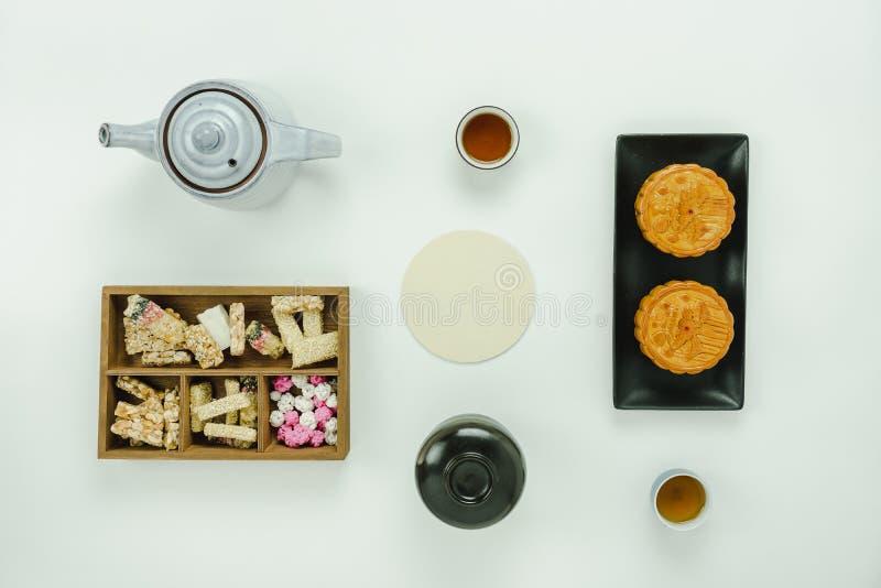 Año Nuevo lunar de la imagen aérea de la opinión de sobremesa y fondo chino del concepto del Año Nuevo imagenes de archivo