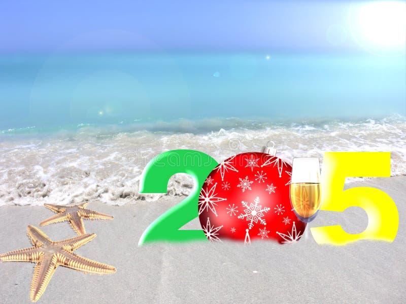 Año Nuevo multicolor 2015 libre illustration