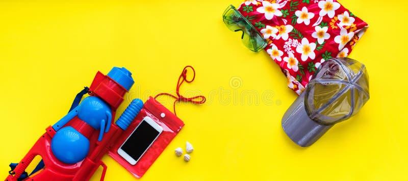 Año Nuevo tailandés del festival accesorio determinado de Songkran imágenes de archivo libres de regalías