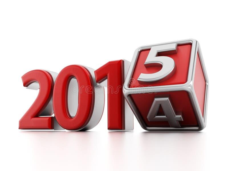 Download 2015 Años Nuevos stock de ilustración. Ilustración de nuevo - 44854380