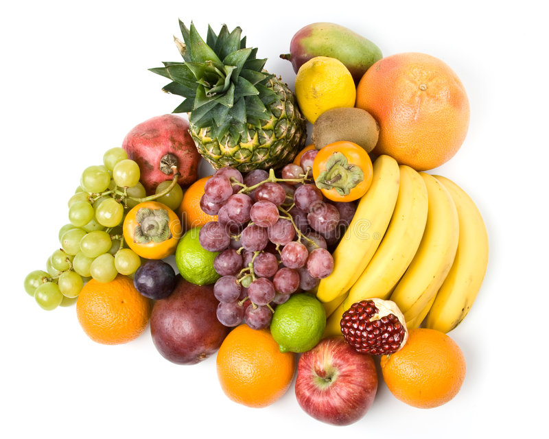 Download Aún-vida con las frutas imagen de archivo. Imagen de ingrediente - 7283403