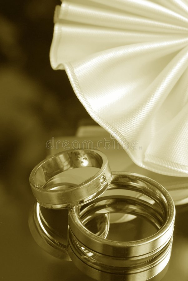 Aún-vida de la boda imagen de archivo