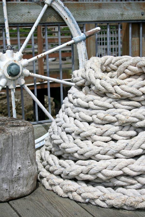 Aún vida náutica foto de archivo