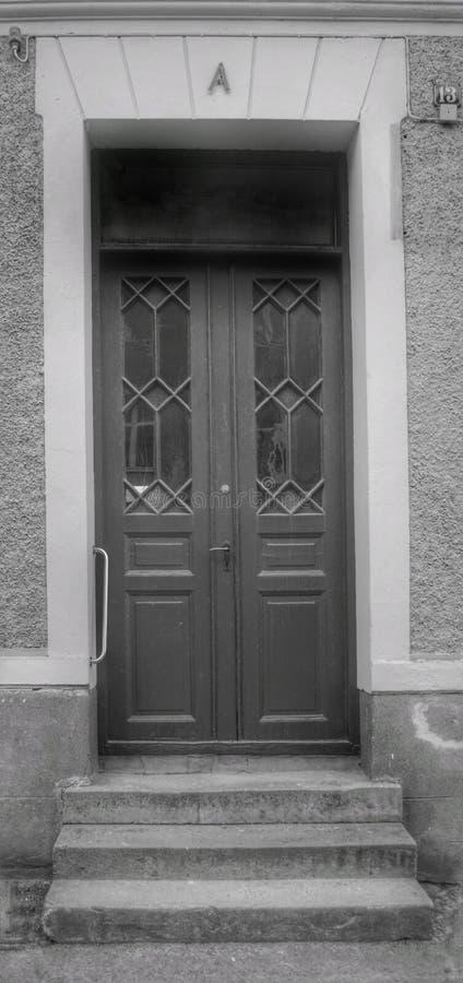 13A直棂门在Åmål 图库摄影