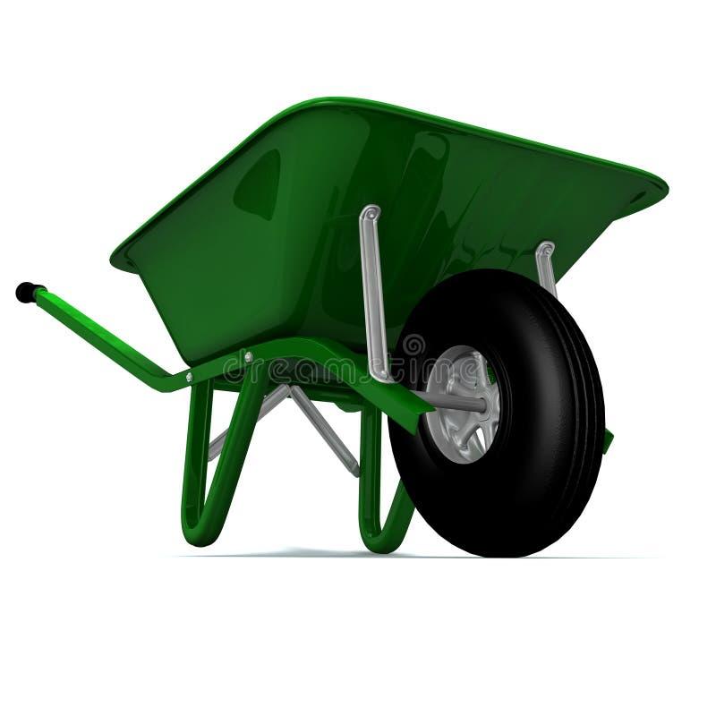 Free A 3D Render Of A Wheelbarrow Stock Image - 1792881