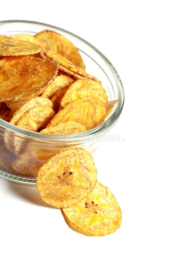 Free A Bowl Of Banana Chips 4 Royalty Free Stock Photography - 26136997
