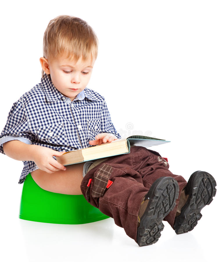 Free A Boy Sitting On The Pot Stock Images - 19548844