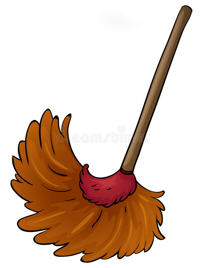 Free A Broom Royalty Free Stock Photography - 26629787