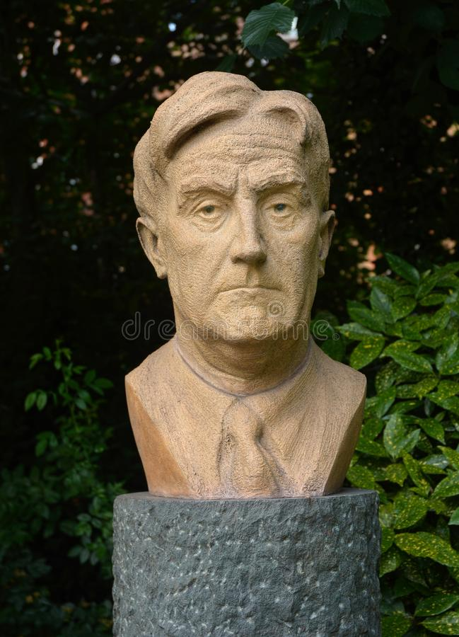 Free A Bust Of Ralph Vaughn Williams. Composer. Royalty Free Stock Images - 150584029