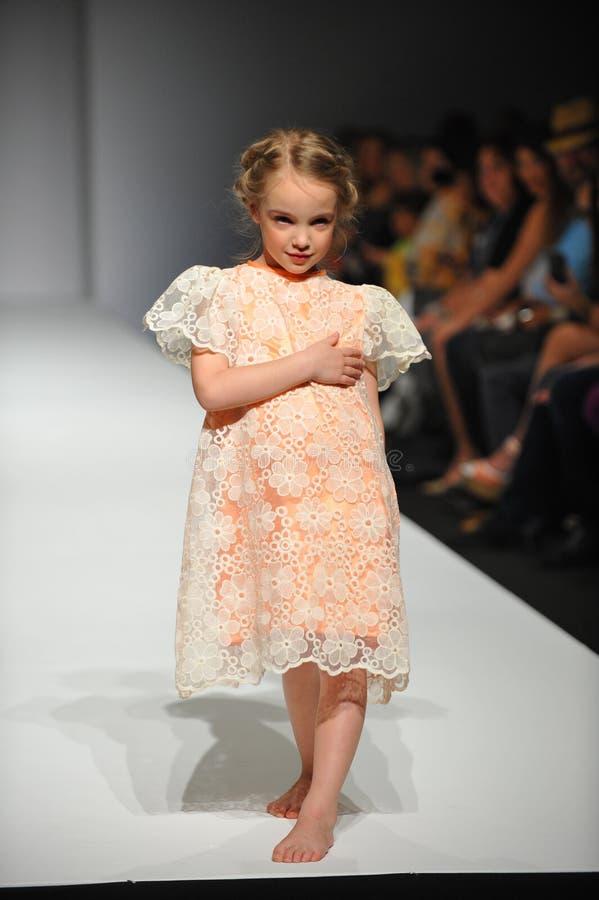 Free A Child Walks Runway At Nancy Vuu Children Show Stock Photography - 38922372