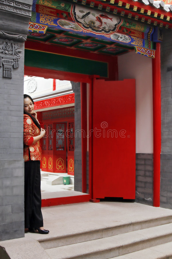 Free A Chinese Girl Royalty Free Stock Photography - 5049757