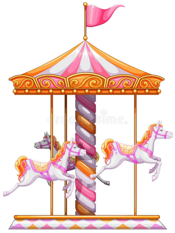 Free A Colourful Merry-go-round Stock Photography - 45968652