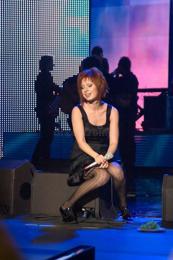 Free A Concert Of Julia Savicheva In Moscow Stock Photos - 4336123