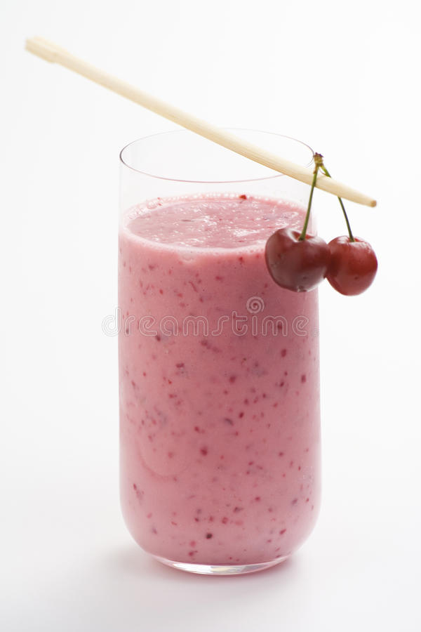 Free A Delicious Cherry Milkshake Royalty Free Stock Images - 9547439