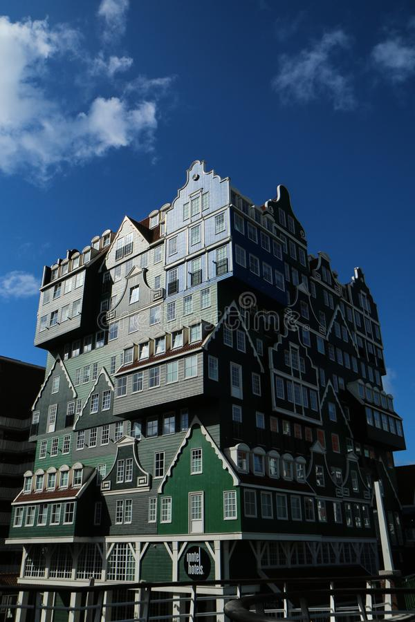 Free A Detail Picture Of The Odd Hotel In Netherlands Royalty Free Stock Photography - 138758077