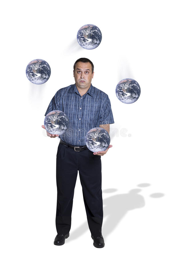 Free A Fast World Is Often A Juggling Act Stock Image - 57240581