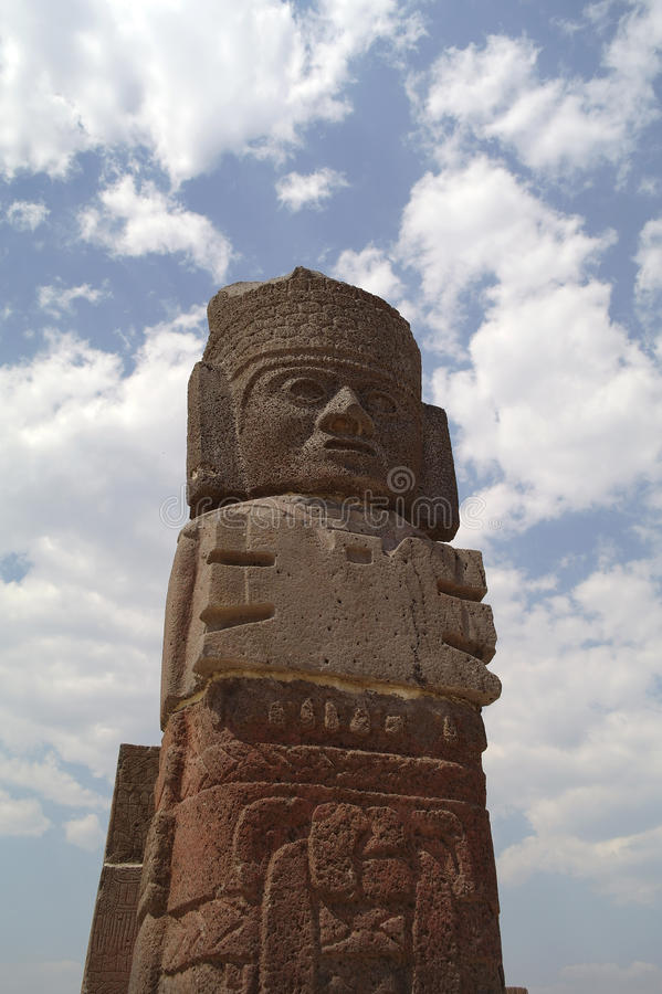 Free A Fragment Of A Holy Statue In Teotihuacan, Mexico Stock Photography - 28556212