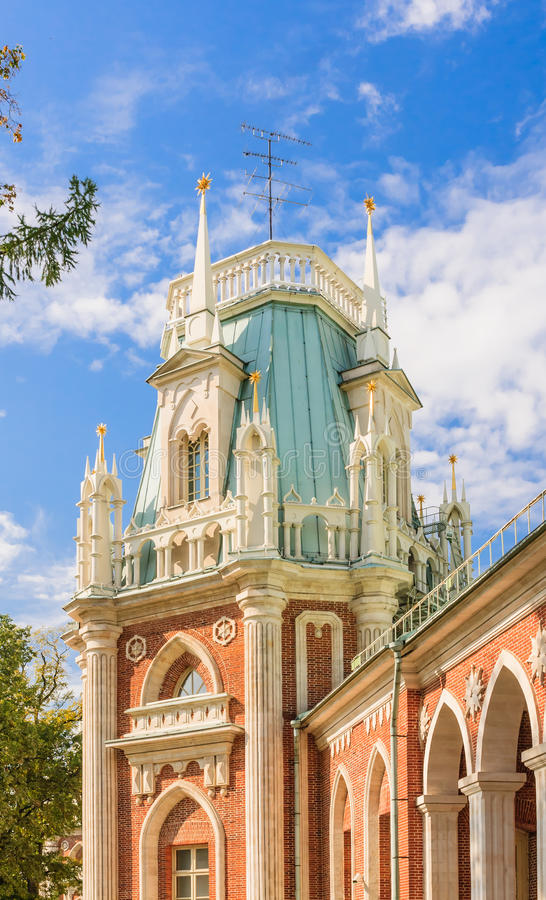 Free A Fragment Of The Grand Palace Architecture. Museum-Reserve Tsaritsyno Stock Photo - 70172020