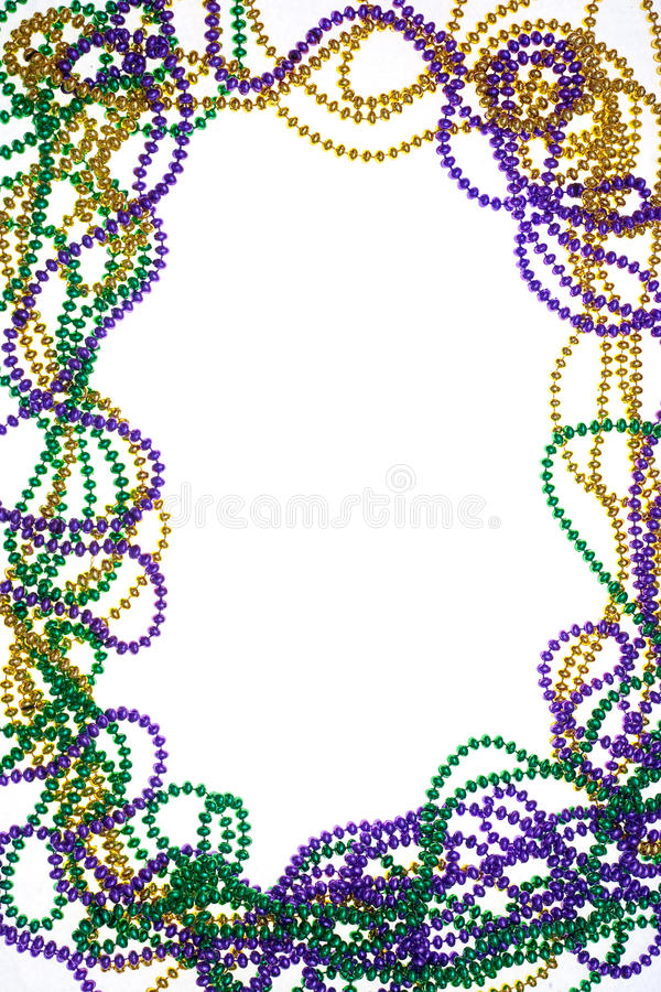 Free A Frame Of Three Colours Of Beads Royalty Free Stock Photography - 18859197