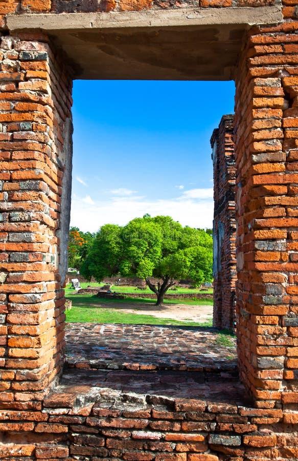 Free A Frame Of Wat Phra Sri Sanphet Of Ayutthaya Stock Image - 19952701