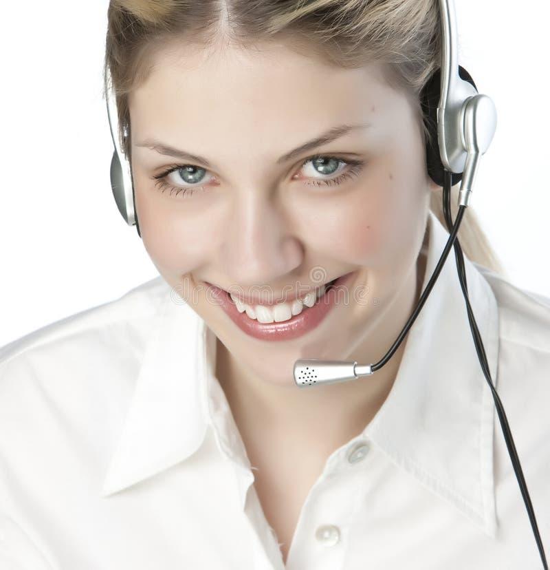 Free A Friendly Secretary/telephone Operato Royalty Free Stock Photo - 9927005