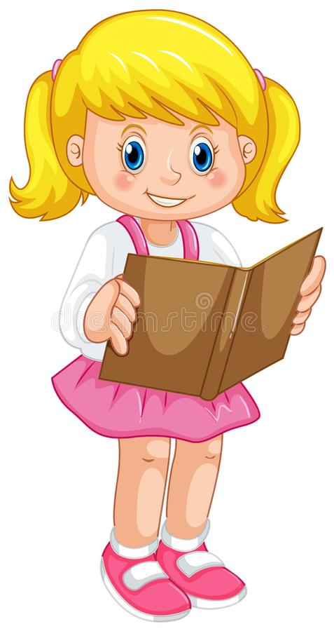 Free A Girl Reading Book Stock Photos - 147458323