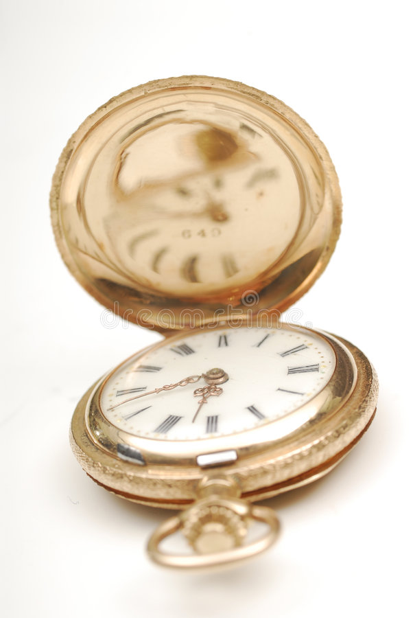 Free A Gold Pocket Watch Stock Images - 3961794