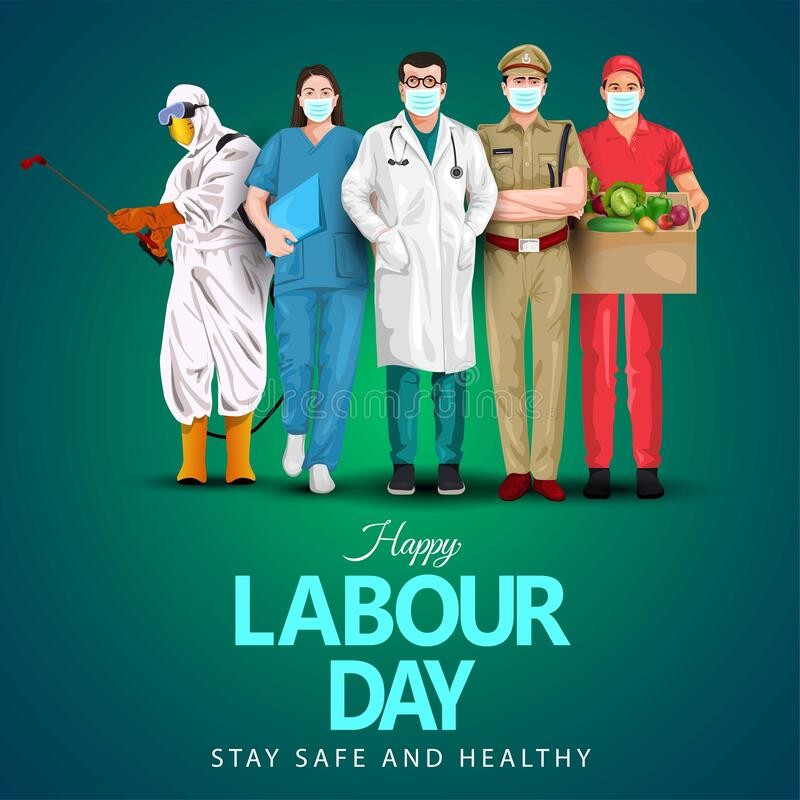 Free A Group Of People Of Different Professions. Doctor,business Man, Worker. Set Of Occupations. Labour Day On 1 May. Coronavirus, Royalty Free Stock Photography - 216717027