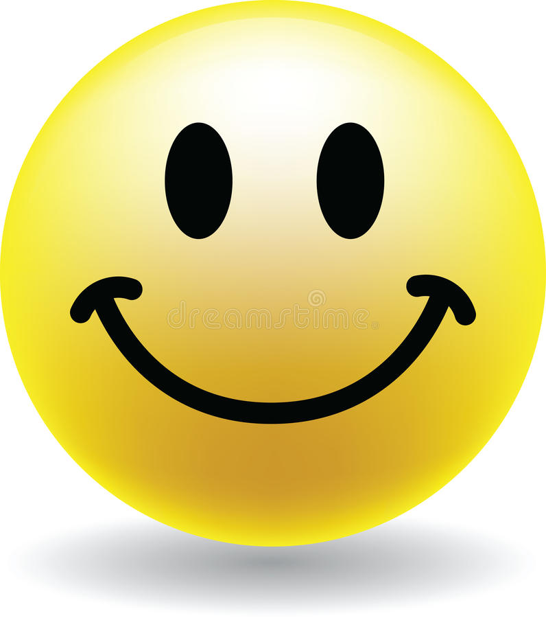 Free A Happy Smiley Face Button Royalty Free Stock Image - 14267656