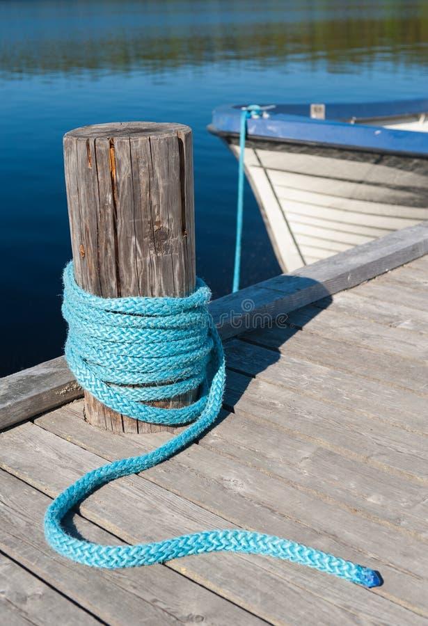 Free A Lake Wharf Stock Photography - 22993522