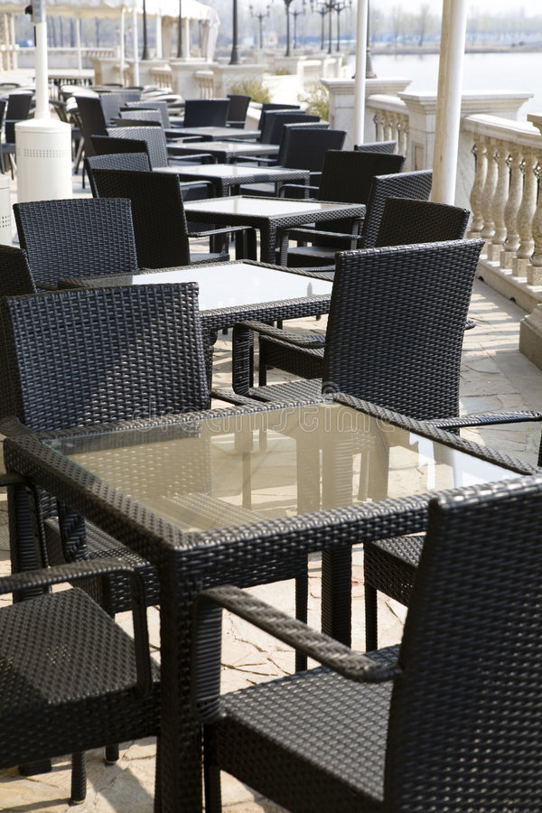 Free A Line Tables And Chairs In Beijing Royalty Free Stock Photos - 8753268