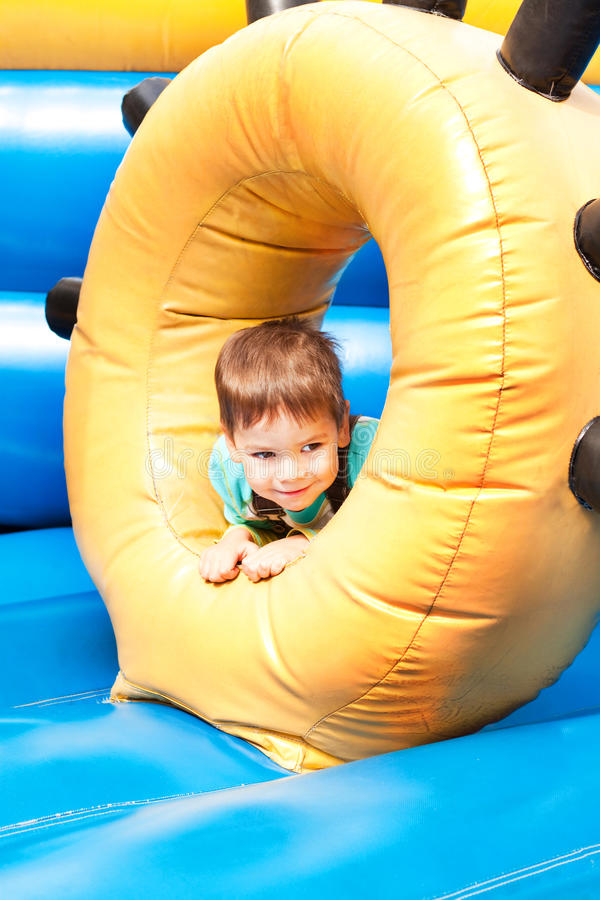 Free A Little Boy Smiling And Playing Stock Photo - 16208030