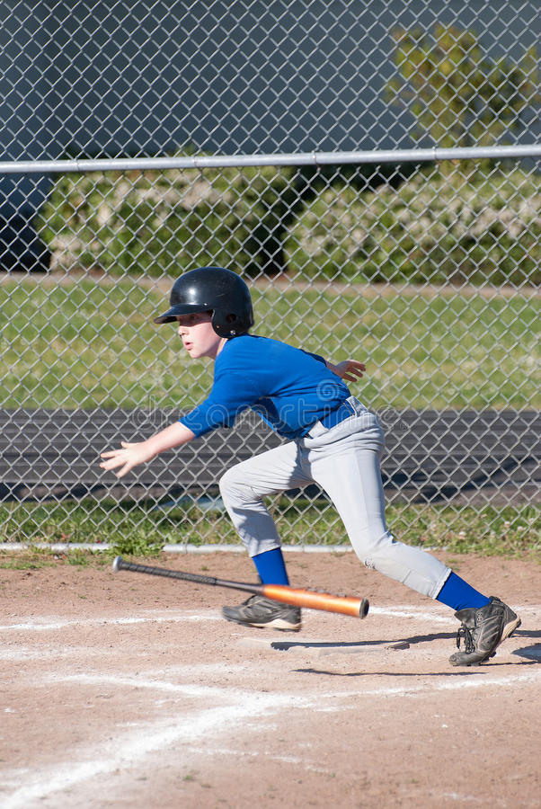 Free A Little League Player Stock Photo - 44954530