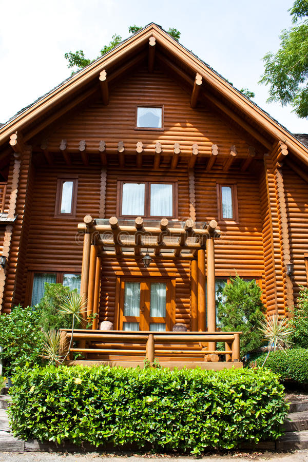 Free A Log Home Stock Photos - 15401843