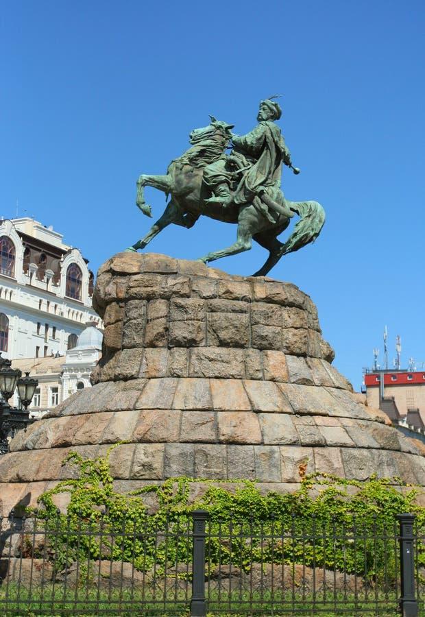 Free A Monument To Bohdan Khmelnitskiy Stock Images - 25861314