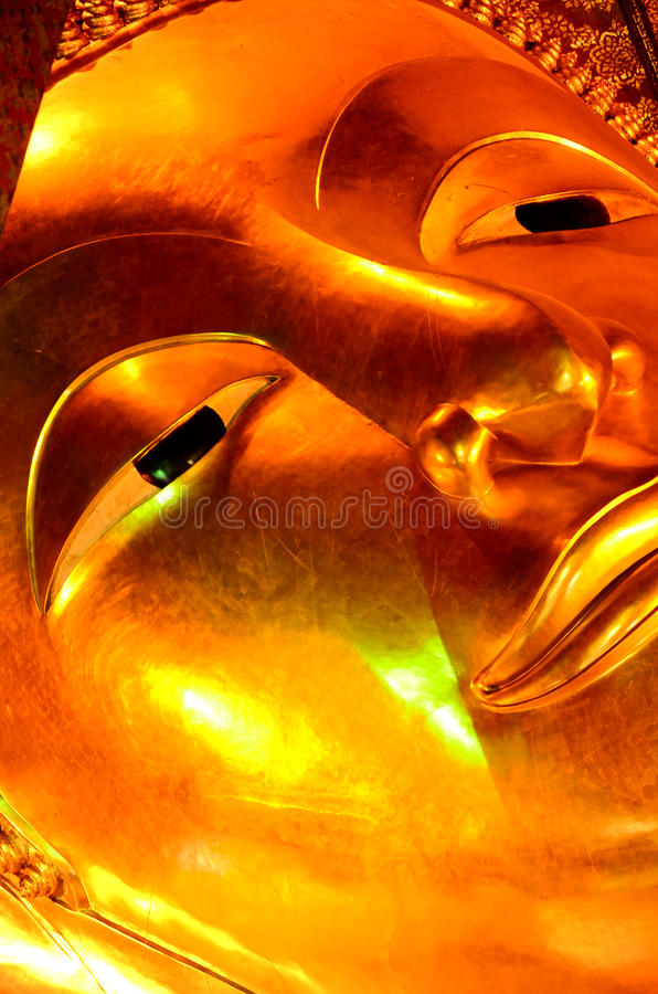 Free A Part Of Golden Buddha Statue In Wat-Po Bangkok Thailand Royalty Free Stock Photo - 67938235