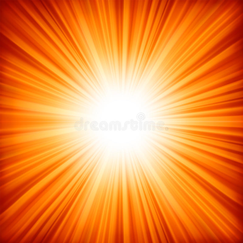 Free A Red - Orange Color Design With A Burst. EPS 8 Royalty Free Stock Image - 17442926