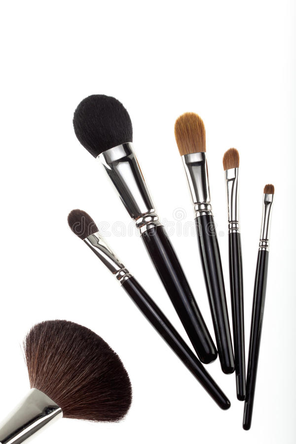 Free A Set Of 6 Make-up Brushes Royalty Free Stock Images - 16985589