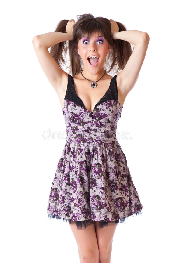 Free A Shocked Woman Stock Photography - 20680612