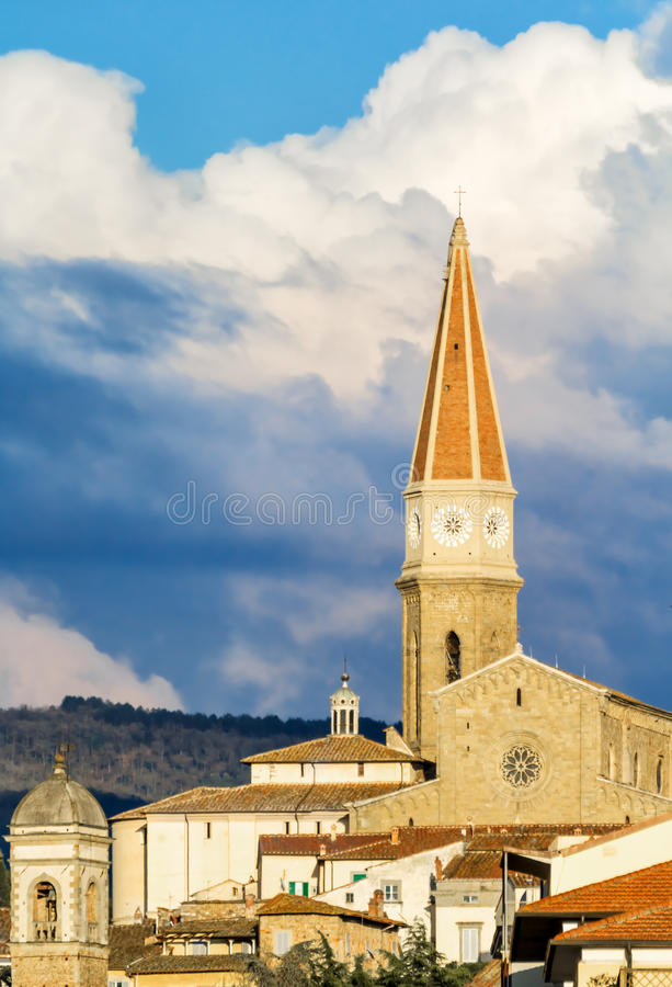 Free A Small Glimpse Of The City Of Arezzo Stock Photo - 31048570