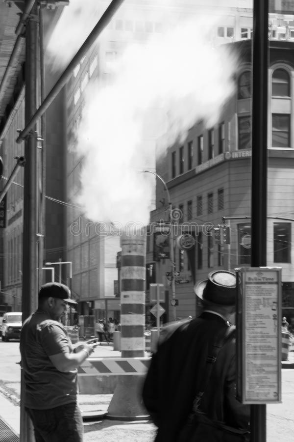 Free A Steam Vent In New York City, USA Stock Images - 110572074