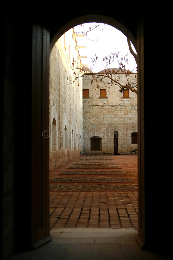 Free A View Into Secluded Courtyard, Mexico Stock Images - 10892334