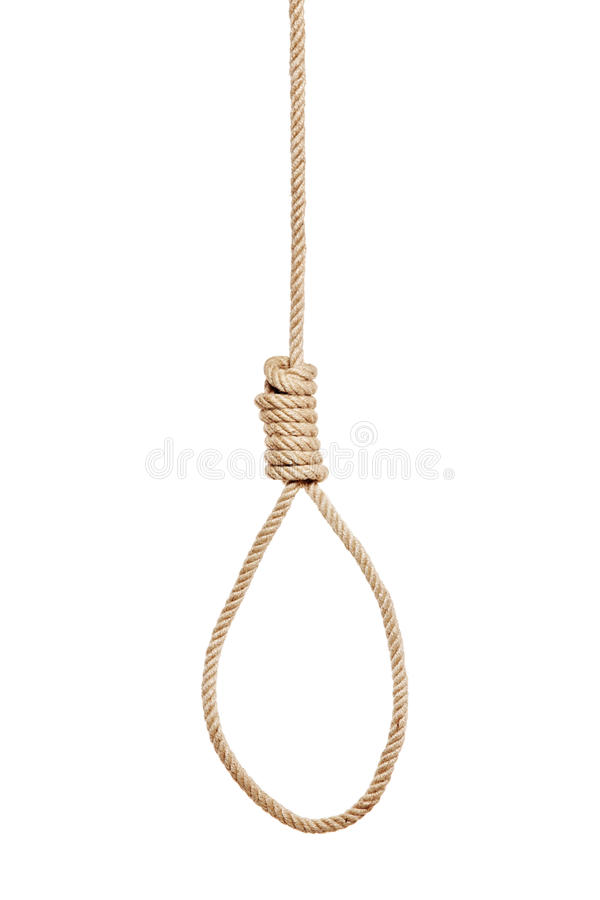 Free A View Of A Hangman S Noose Royalty Free Stock Images - 16503269