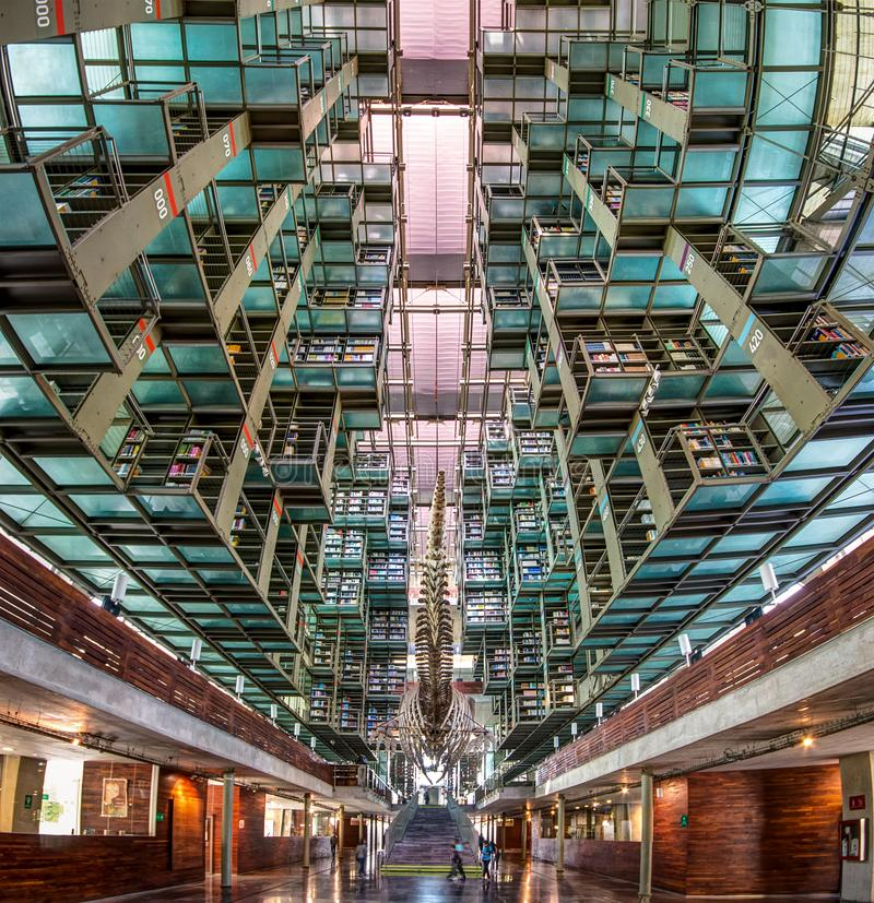 Free A View Of The Inside Of The Biblioteca Vasconcelos Library In Mexico City Royalty Free Stock Photography - 113379097