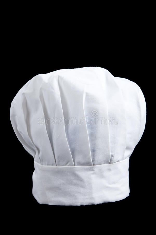 Free A White Baker S Toque On A Black Background Stock Photo - 11451680
